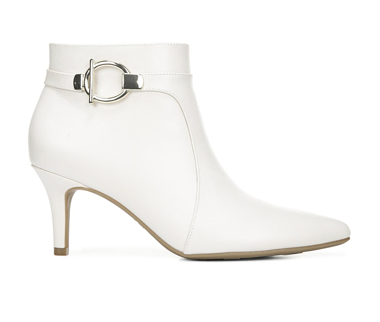 LifeStride Samara Women's Boots (White - Faux Leather)