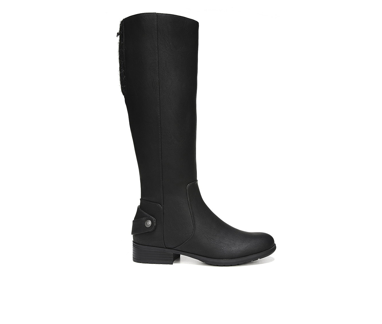 LifeStride X Amy Women's Boot (Black Faux Leather)