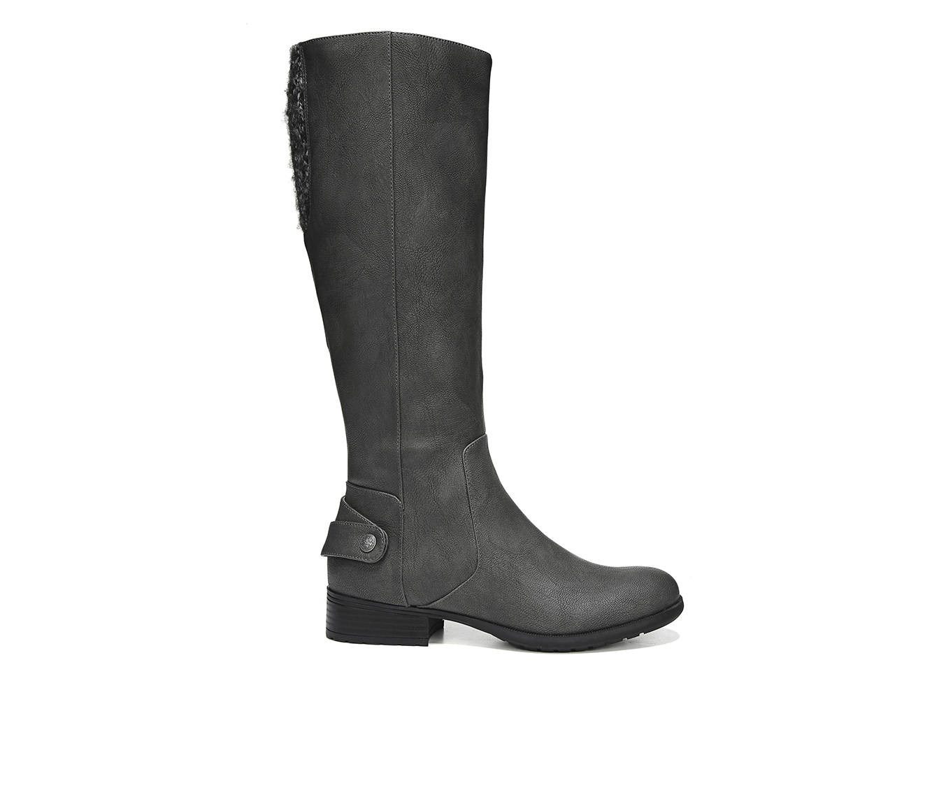 LifeStride X Amy Women's Boots (Gray - Faux Leather)