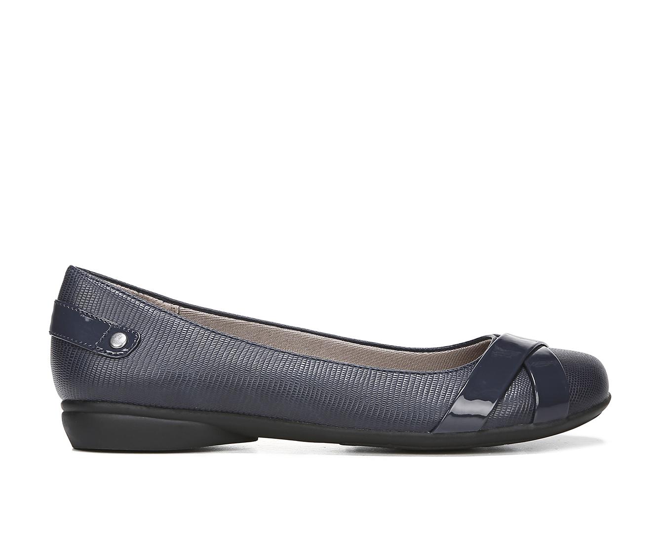 LifeStride Adalene Women's Shoe (Blue Faux Leather)
