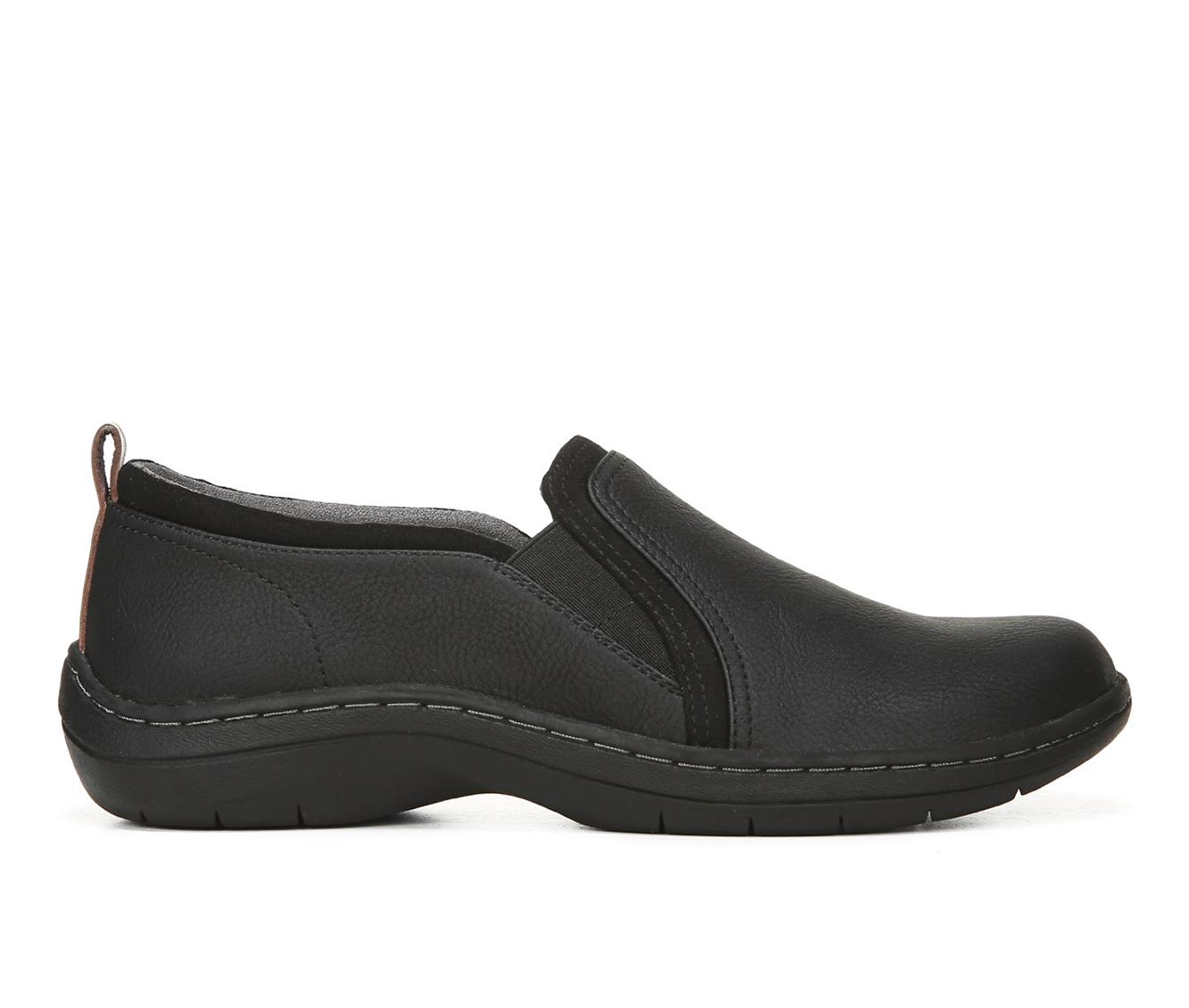 Dr. Scholls Janelle Women's Shoe (Black Faux Leather)