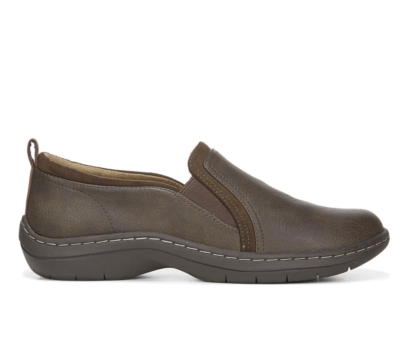 Dr. Scholls Janelle Women's Shoe (Brown Faux Leather)