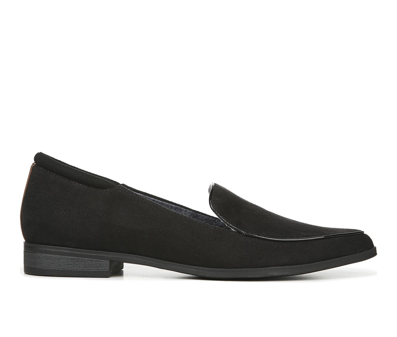 Dr. Scholls Lark Women's Shoe (Black Canvas)