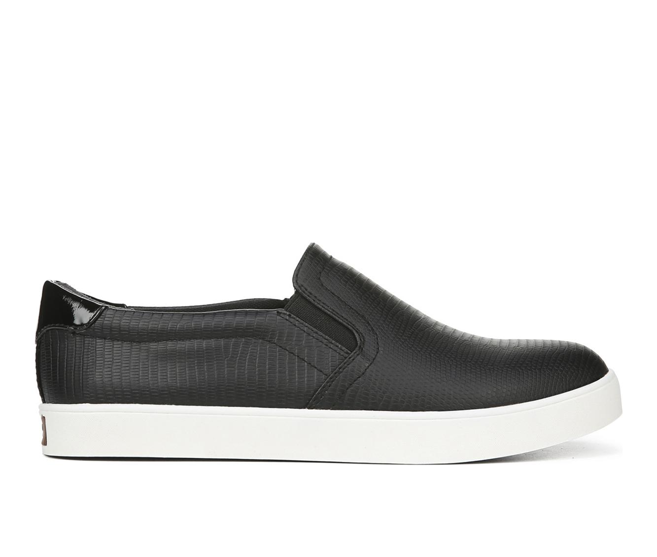 Dr. Scholls Madison Women's Shoe (Black Faux Leather)