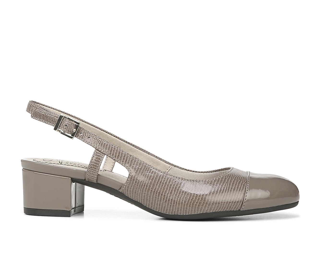 LifeStride Everdeen Women's Dress Shoe (Gray Faux Leather)