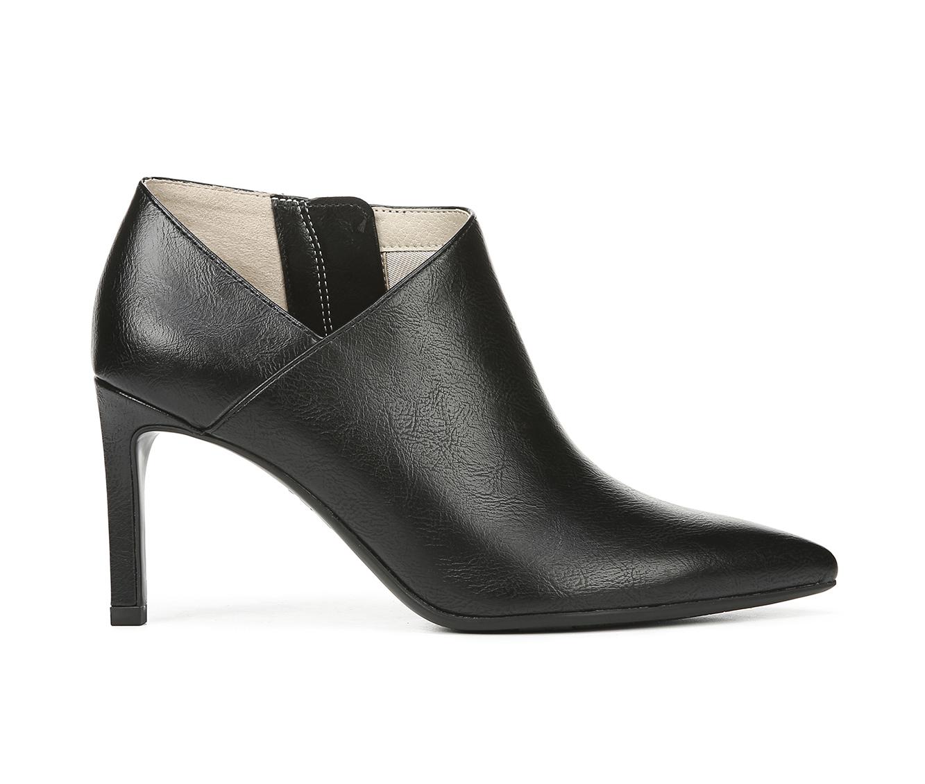 LifeStride Nicolette Women's Dress Shoe (Black Faux Leather)