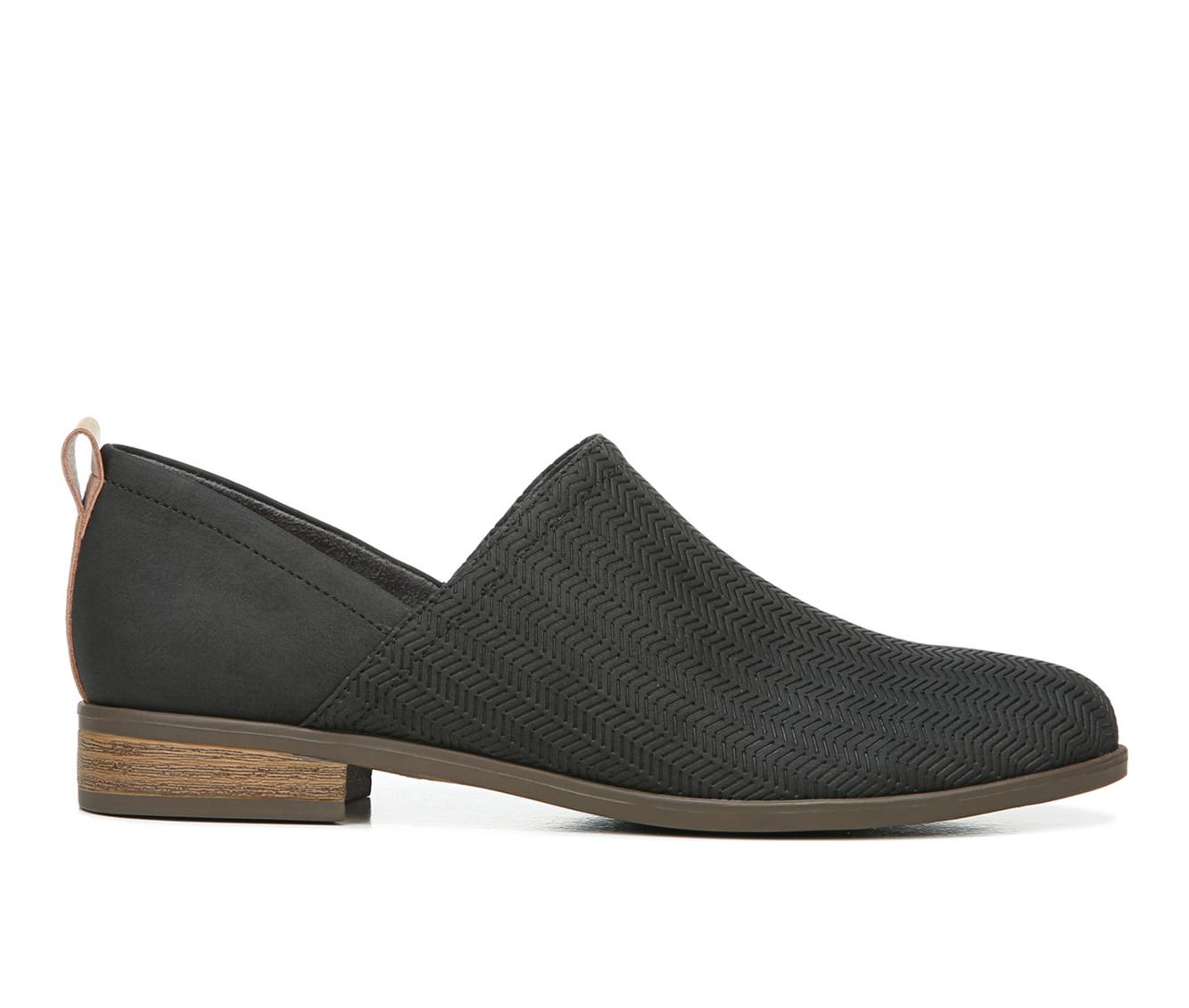 Dr. Scholls Ruler Women's Shoe (Black Canvas)