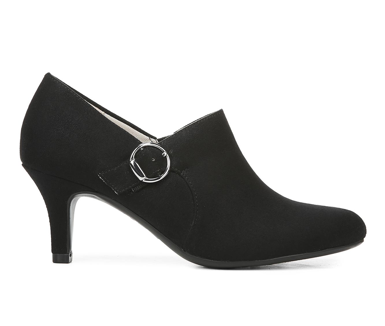 LifeStride Pacey Women's Dress Shoe (Black Canvas)
