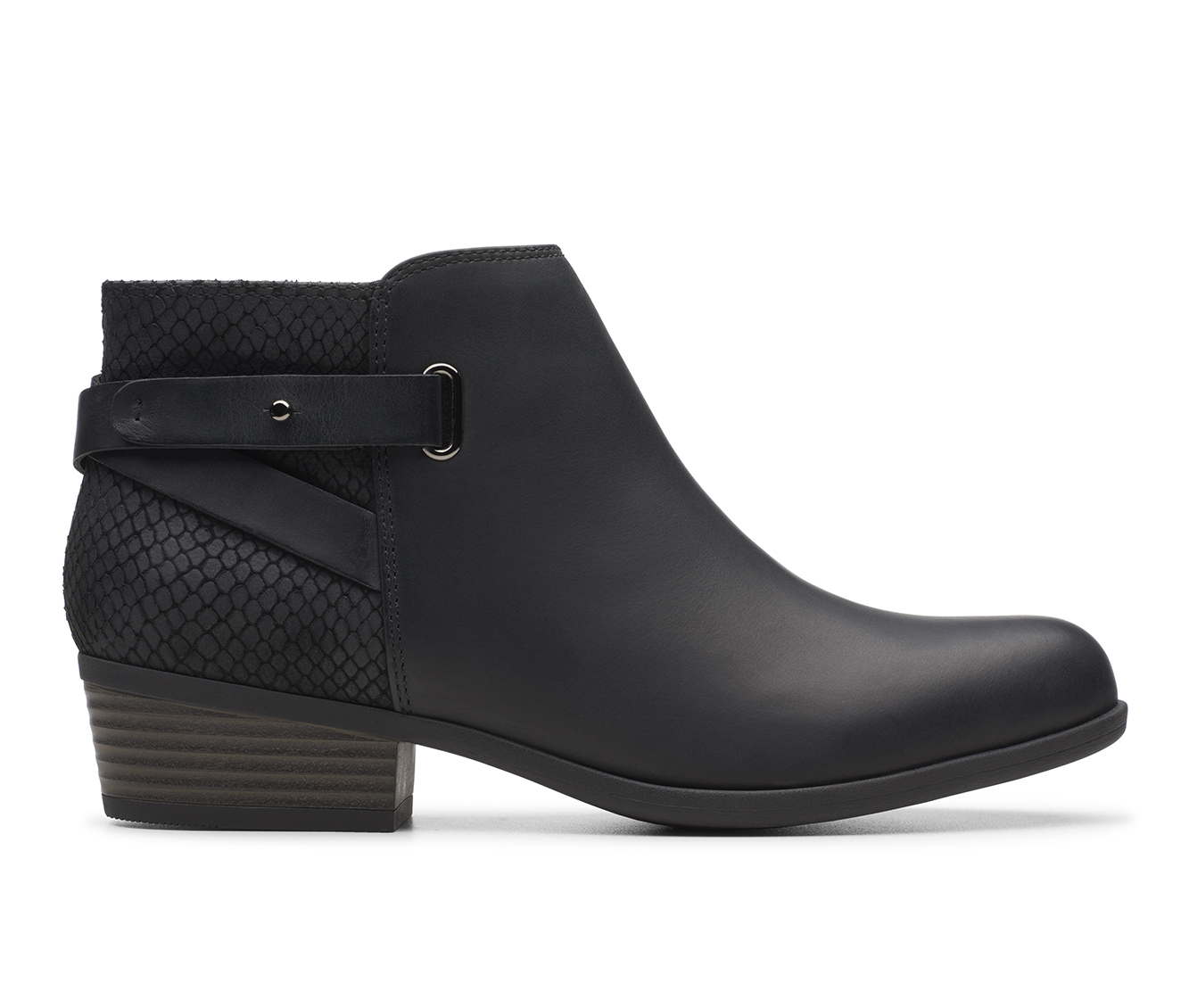 Clarks Addiy Gladys Women's Boots (Black - Leather)