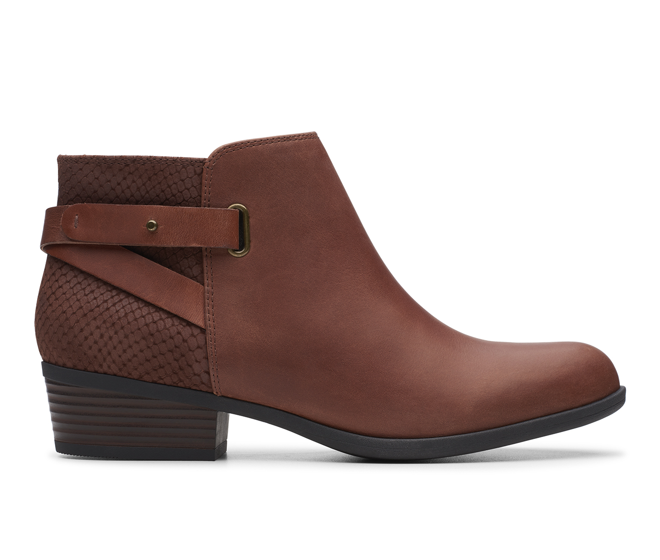 Clarks Addiy Gladys Women's Boots (Brown - Leather)