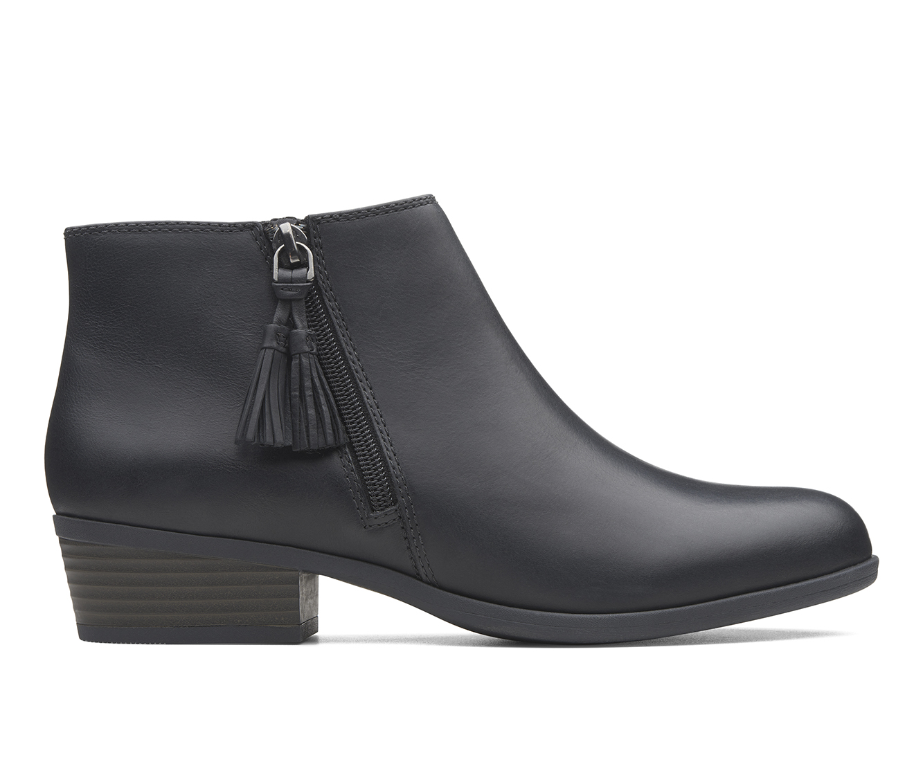 Clarks Addiy Terri Women's Boots (Black - Leather)