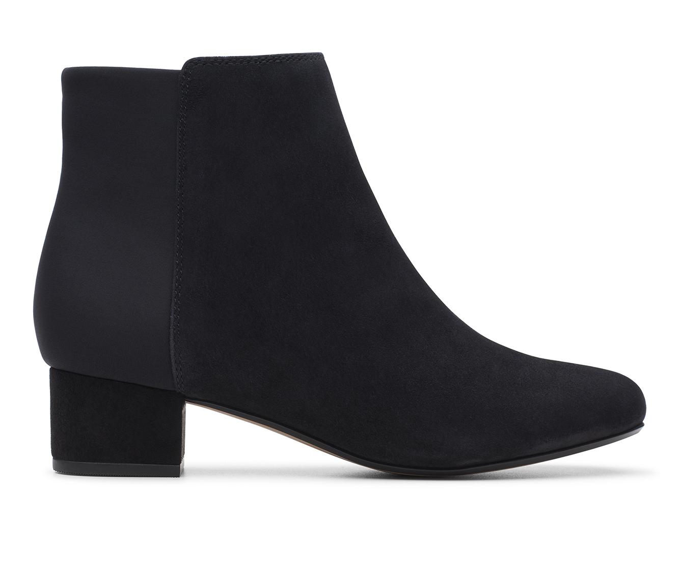 Clarks Chartli Valley Women's Boot (Black Suede)