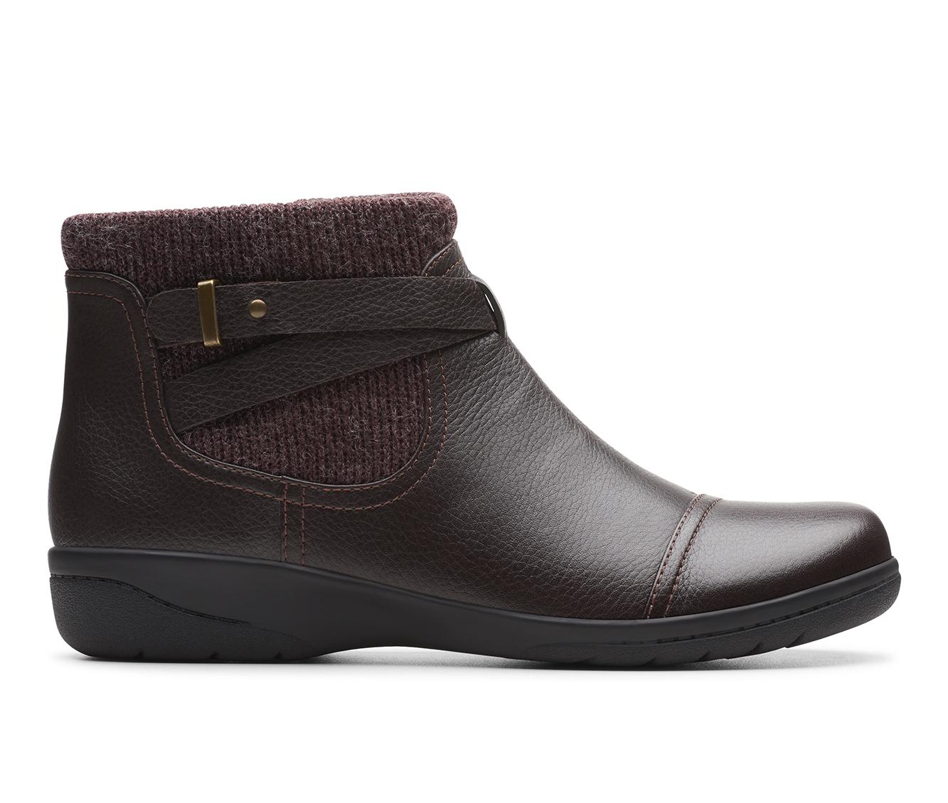 Clarks Cheyn Kisha Women's Boot (Brown Leather)