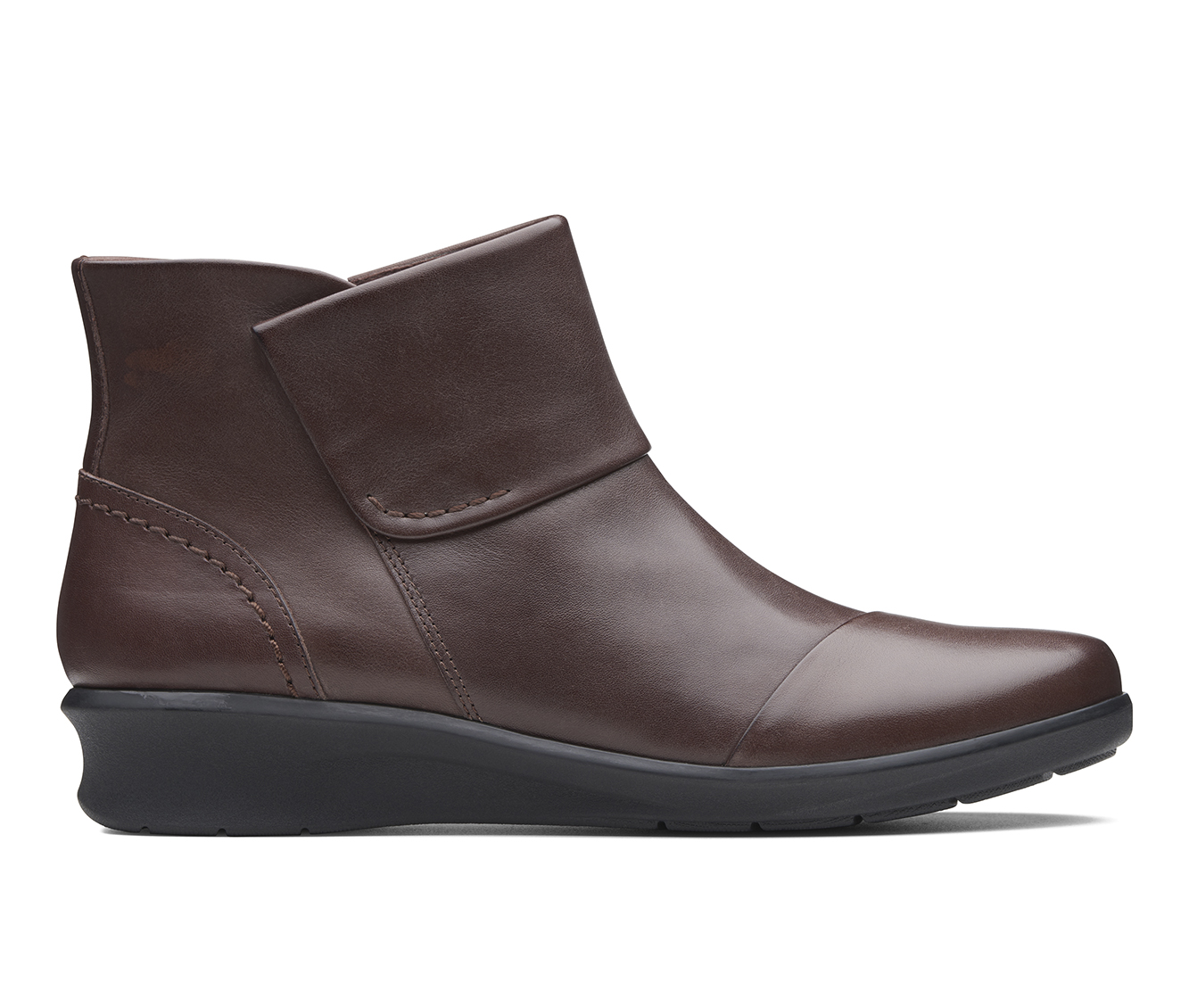 Clarks Hope Track Women's Boots (Brown - Leather)