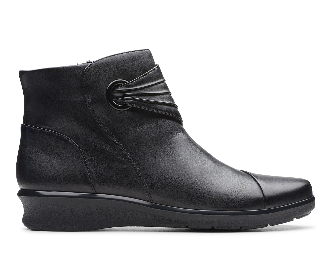 Clarks Hope Twirl Women's Boots (Black - Leather)