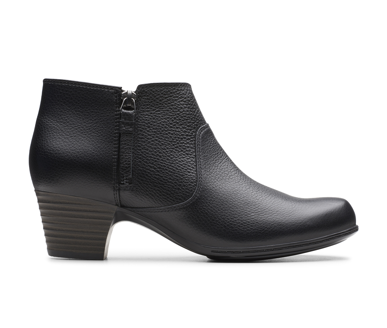 Clarks Valarie 2 Sofia Women's Boots (Black - Leather)