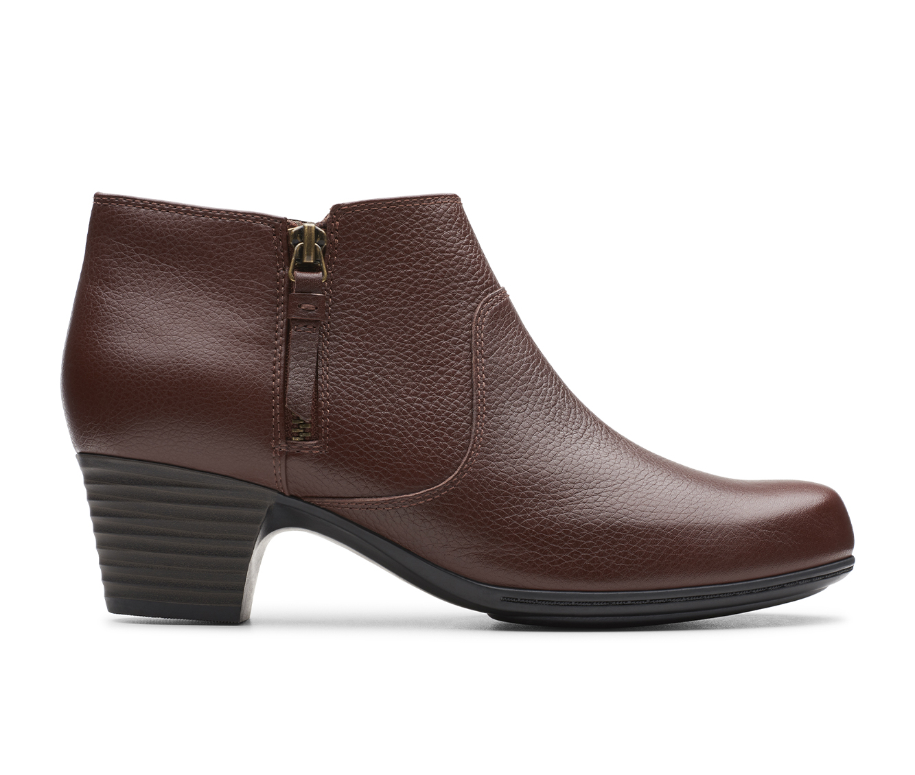 Clarks Valarie 2 Sofia Women's Boots (Brown - Leather)