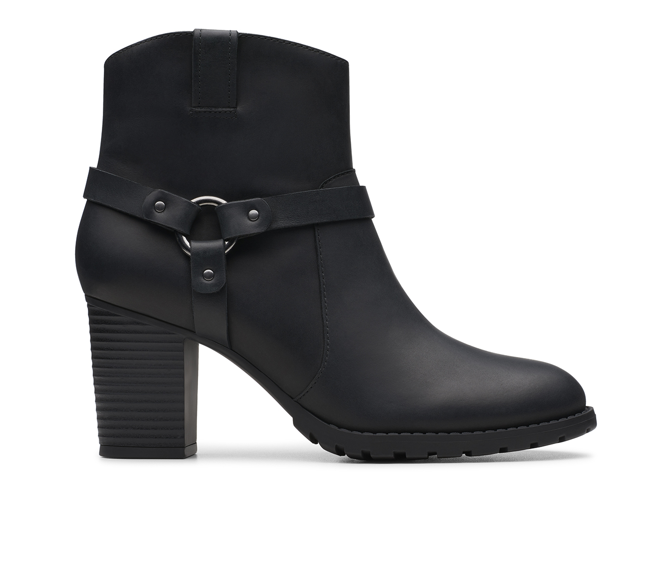 Clarks Verona Rock Women's Boot (Black Leather)