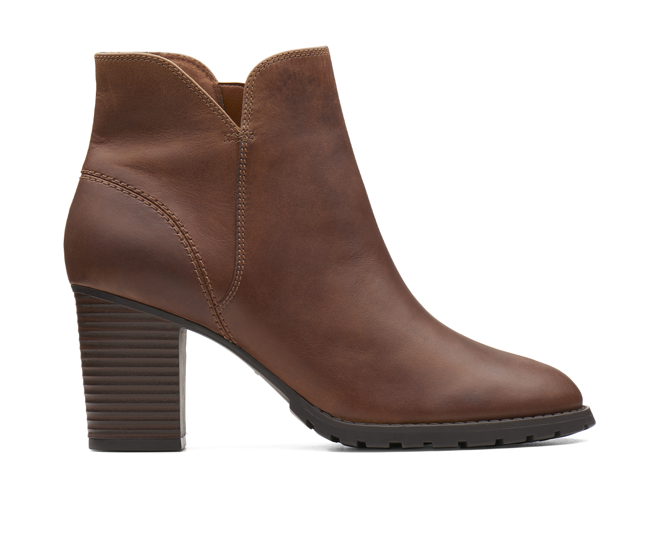 Clarks Verona Trish Women's Boots (Brown - Leather)