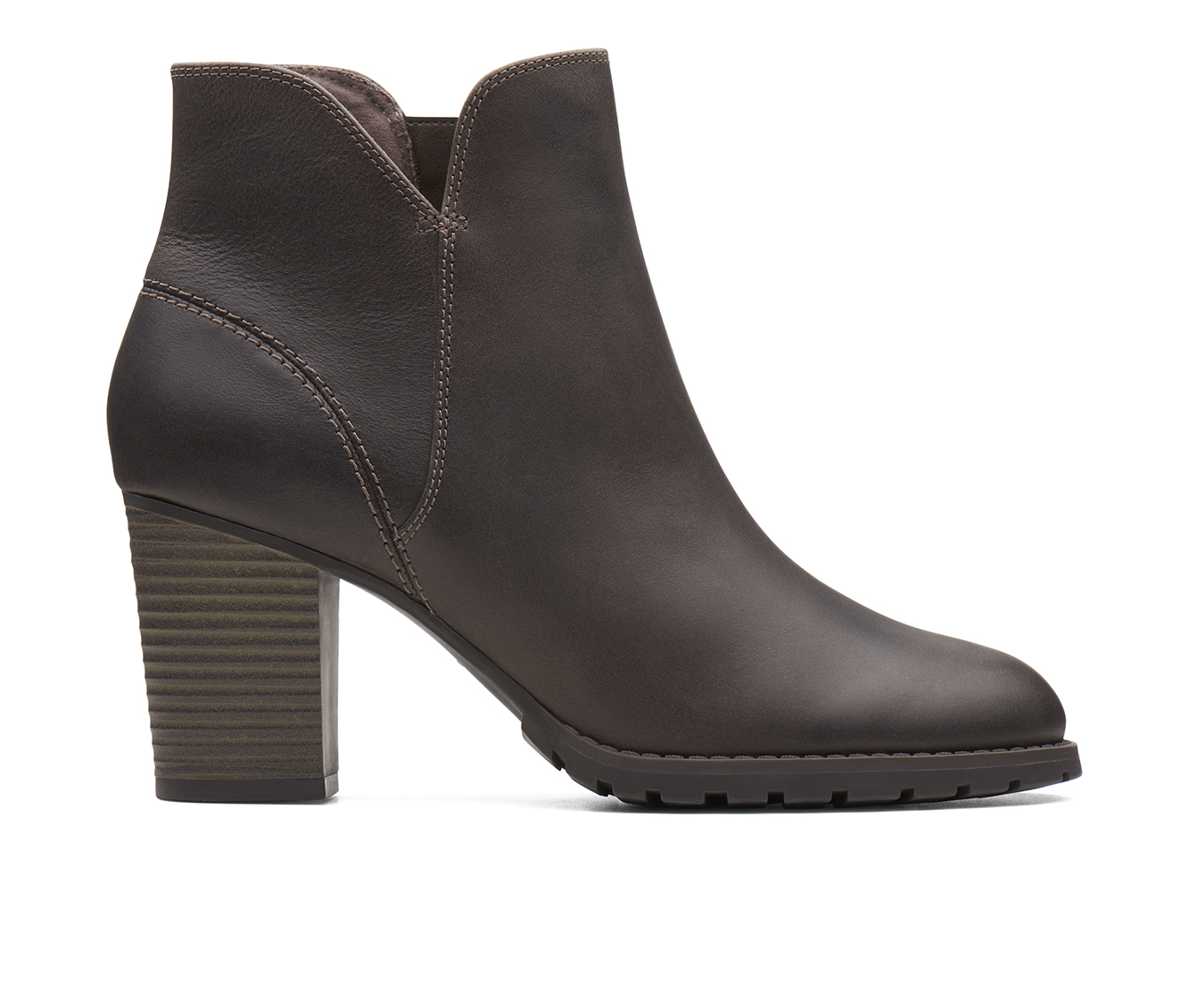 Clarks Verona Trish Women's Boots (Gray - Leather)