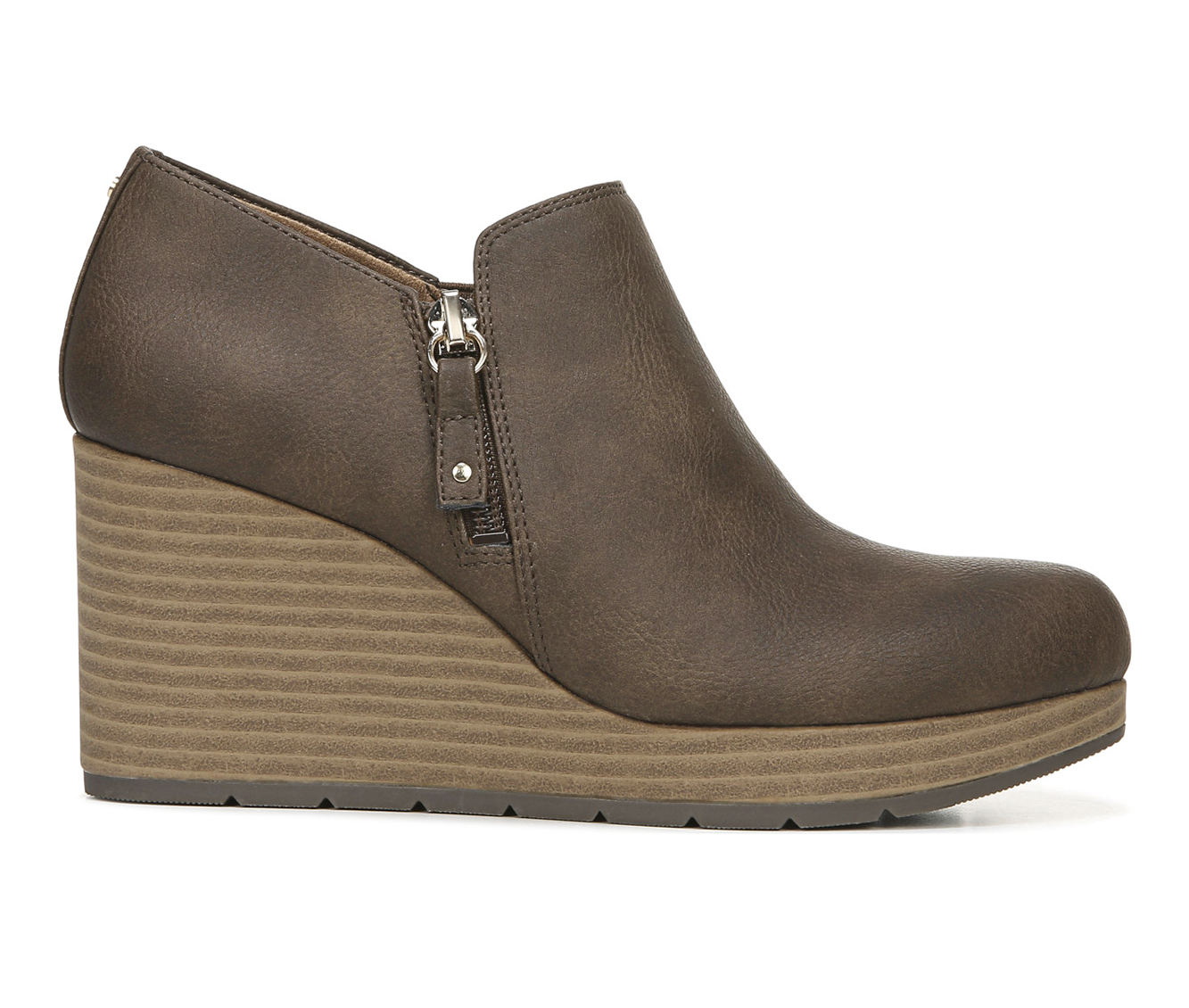 Dr. Scholls Whats Up Women's Shoe (Brown - Faux Leather)