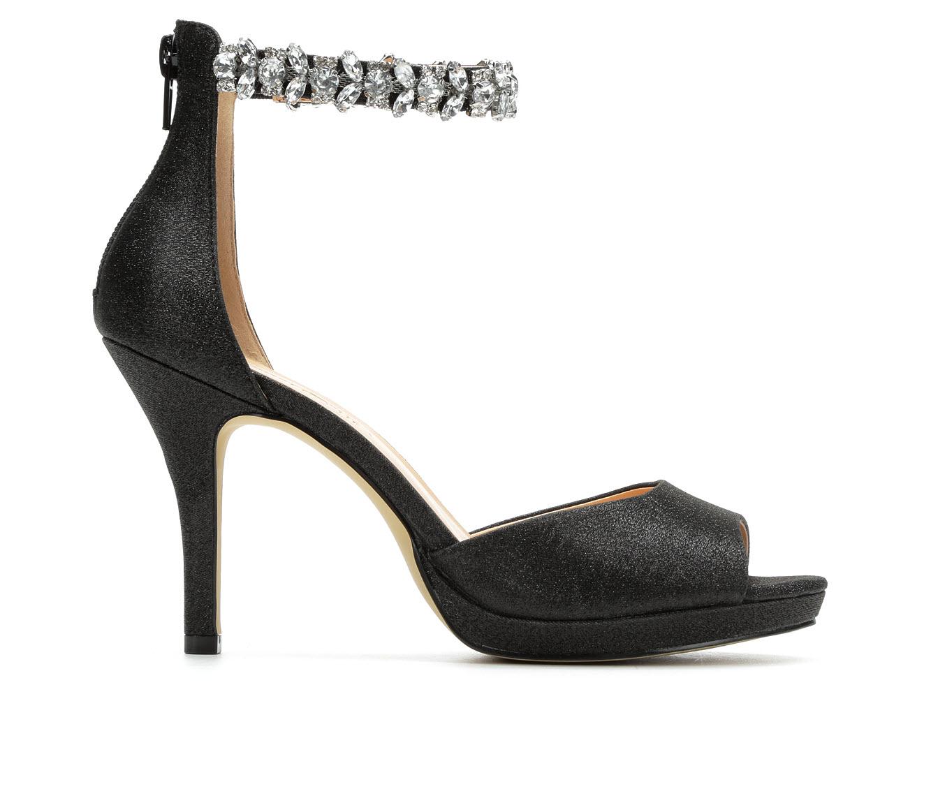 American Glamour BadgleyM Ximena Women's Dress Shoe (Black Canvas)