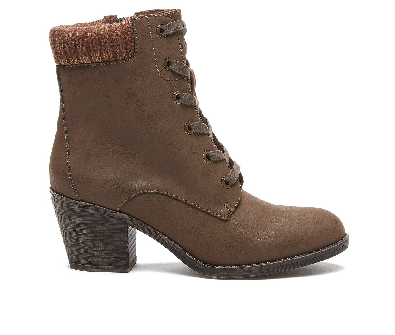 Rocket Dog Sherry Women's Boot (Brown Faux Leather)