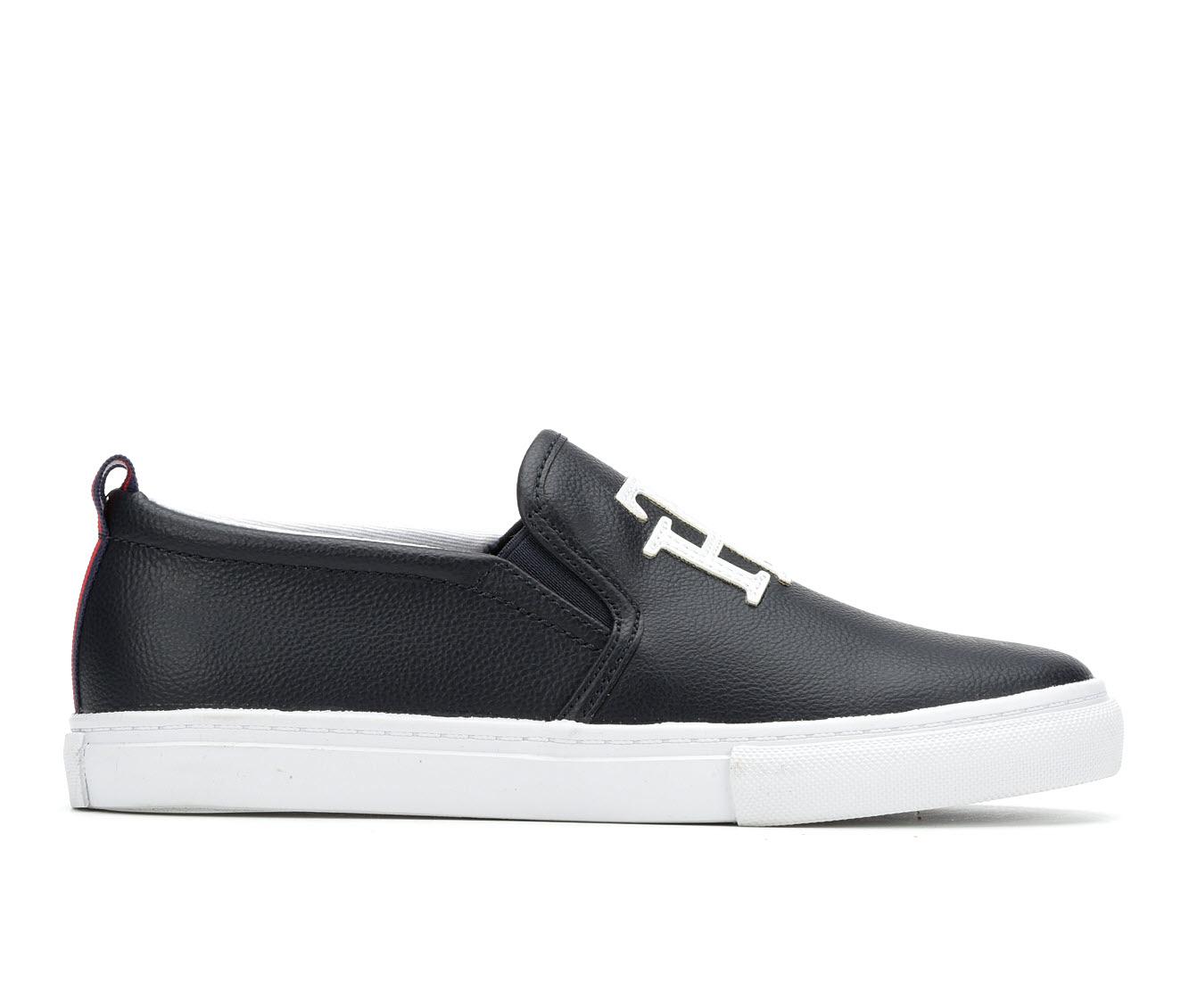 Tommy Hilfiger Lucey3 Women's Shoe (Blue Faux Leather)