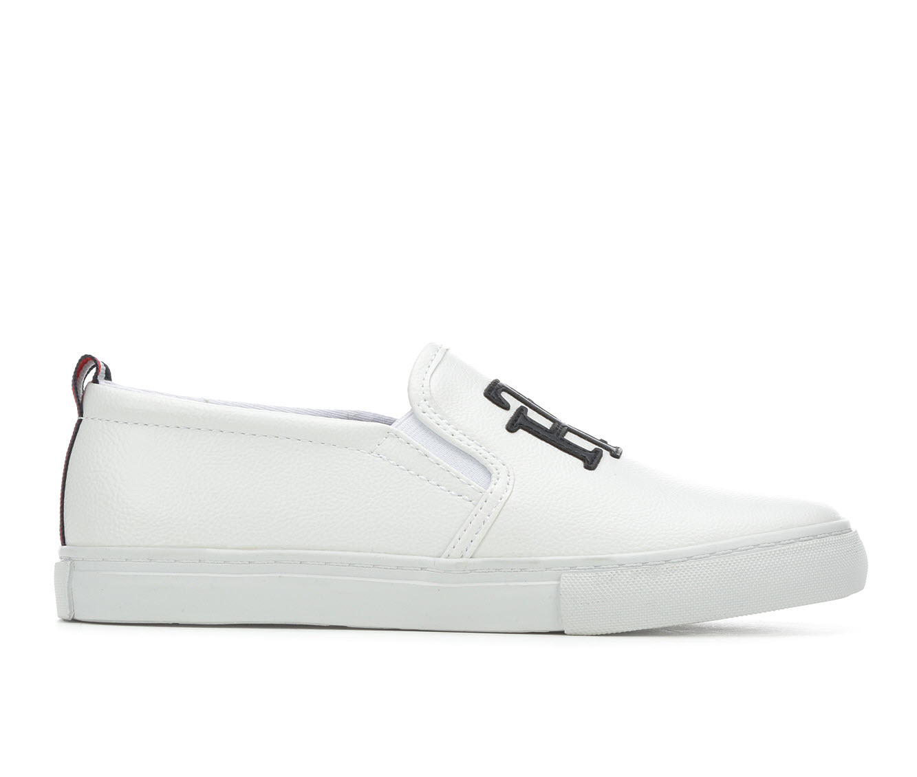 Tommy Hilfiger Lucey3 Women's Shoe (White Faux Leather)
