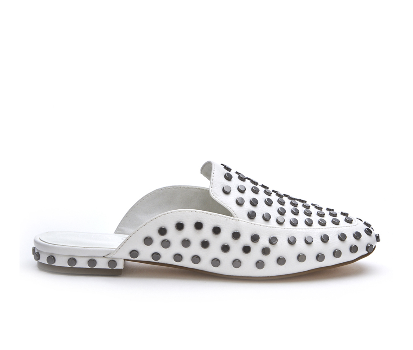 Coconuts Kitty Women's Shoe (White Faux Leather)