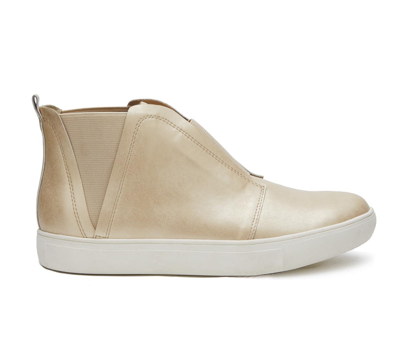 Coconuts Love Worn Women's Shoe (Gold Faux Leather)