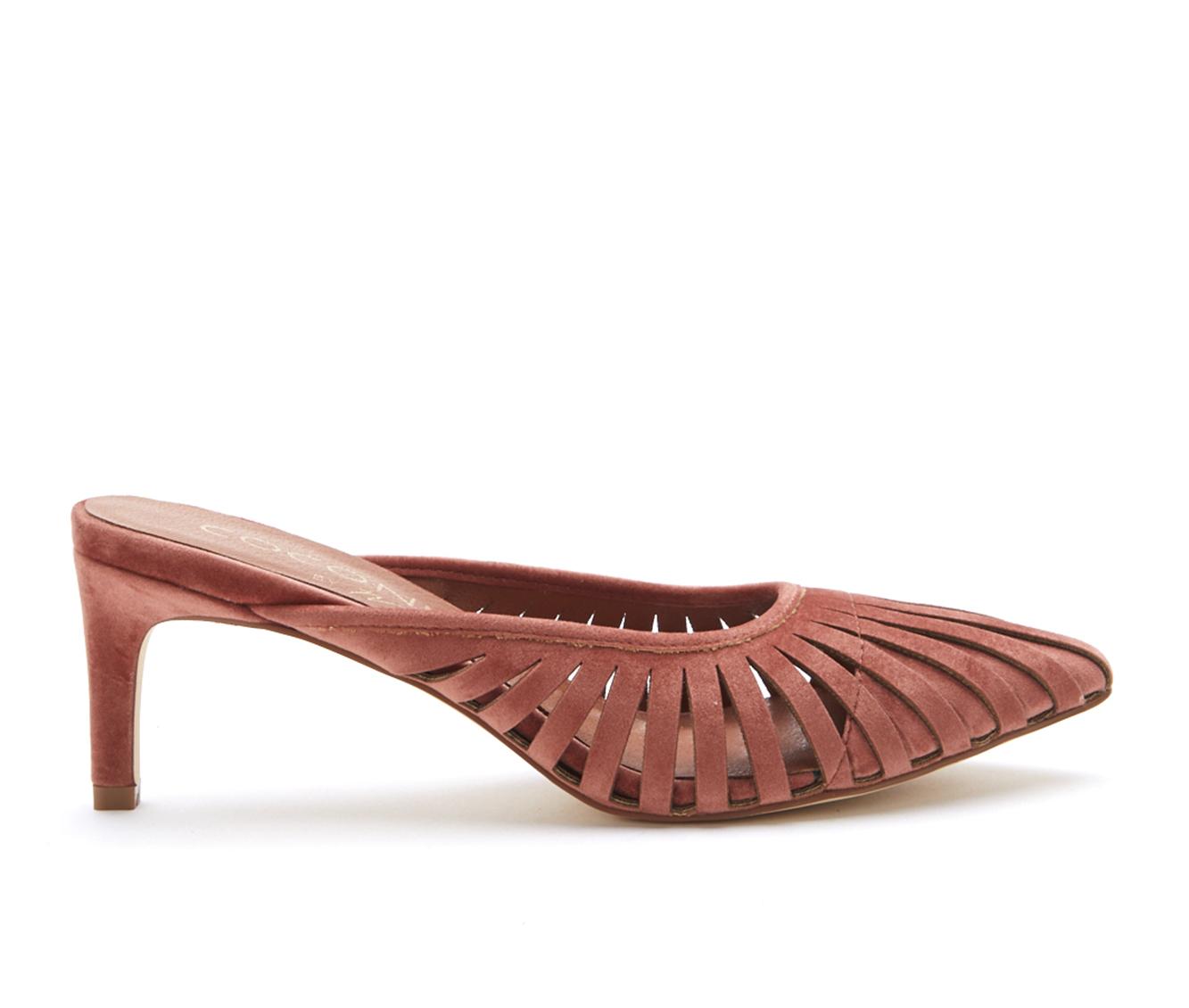 Coconuts Josey Women's Dress Shoe (Pink Canvas)