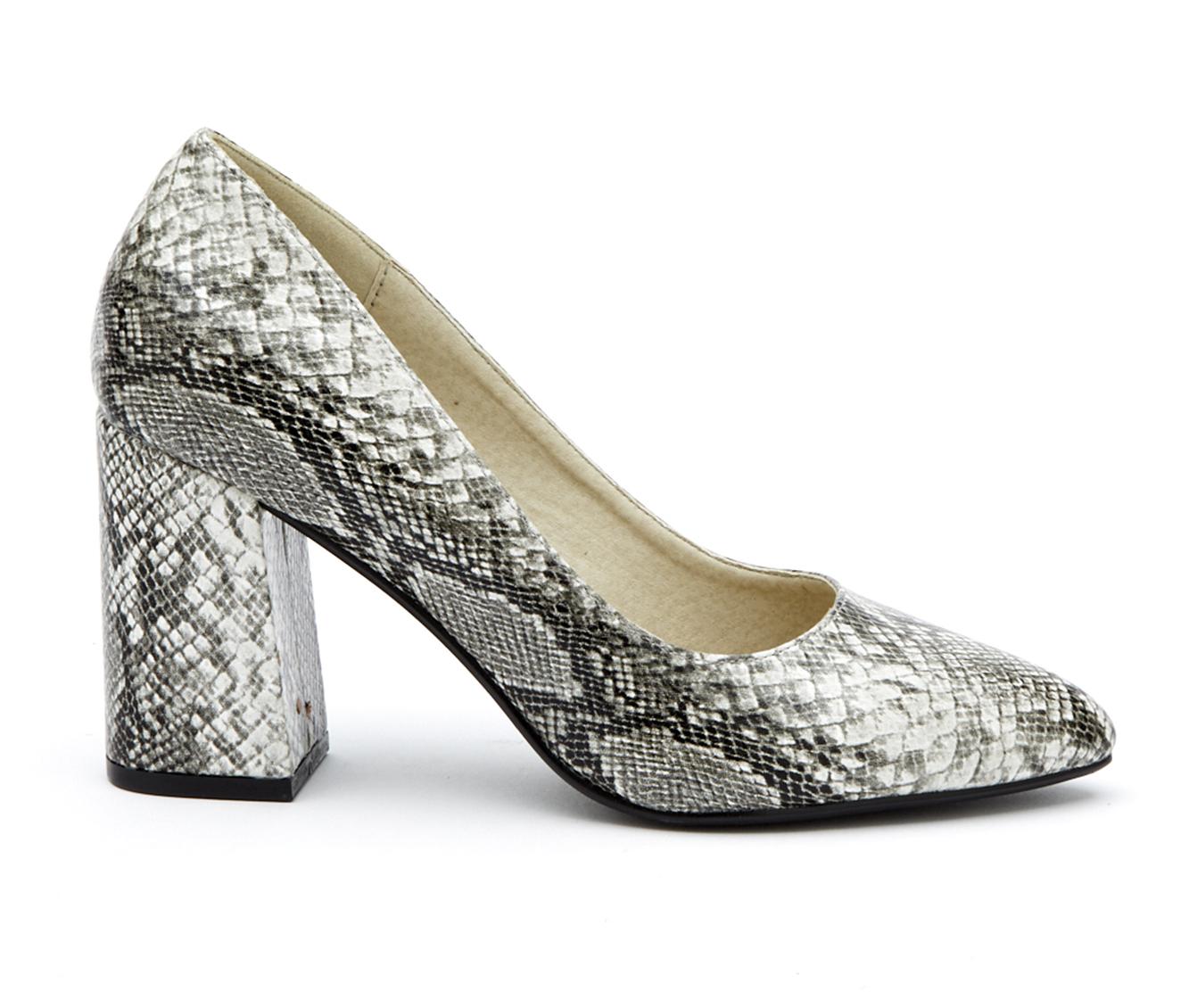 Coconuts Gertie Women's Dress Shoe (White Faux Leather)