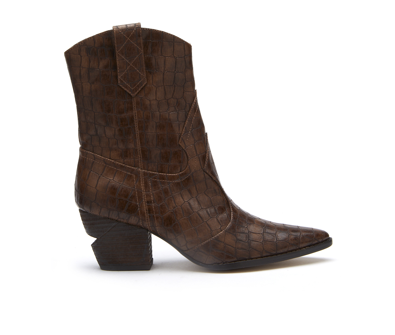 Coconuts After Dark Women's Boot (Brown Faux Leather)
