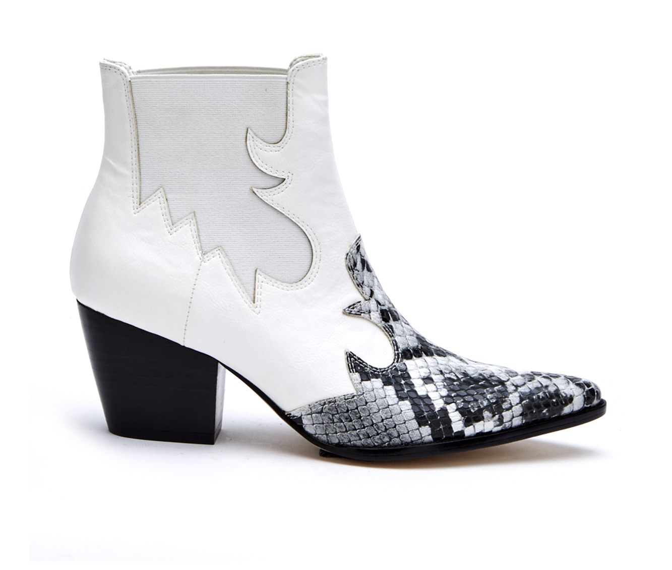 Coconuts Defy Women's Boot (White Faux Leather)