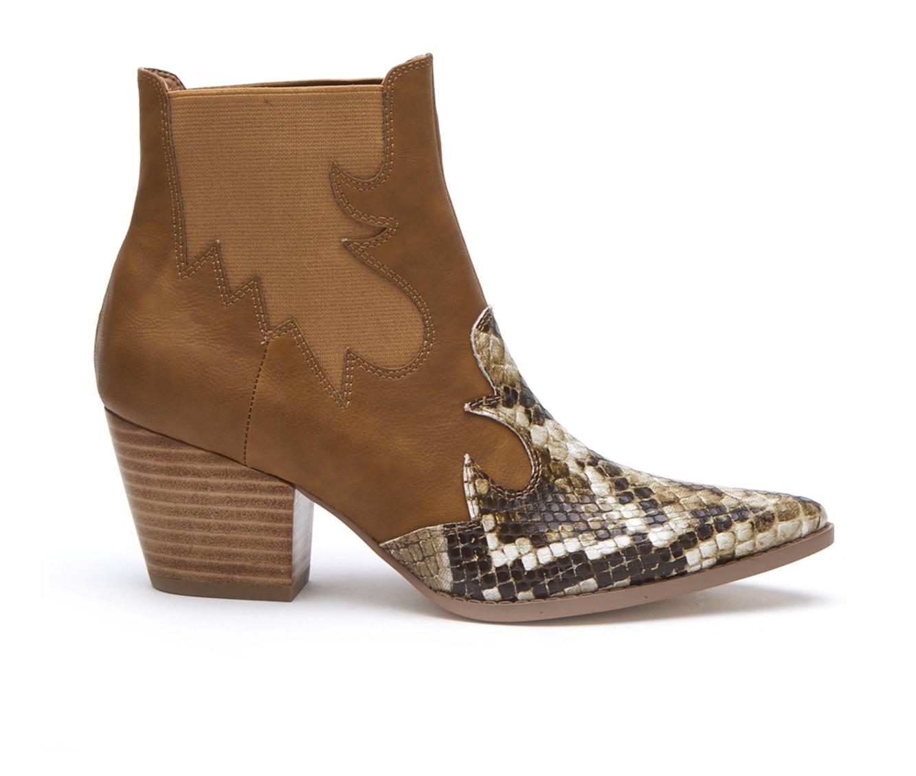 Coconuts Defy Women's Boot (Beige Faux Leather)