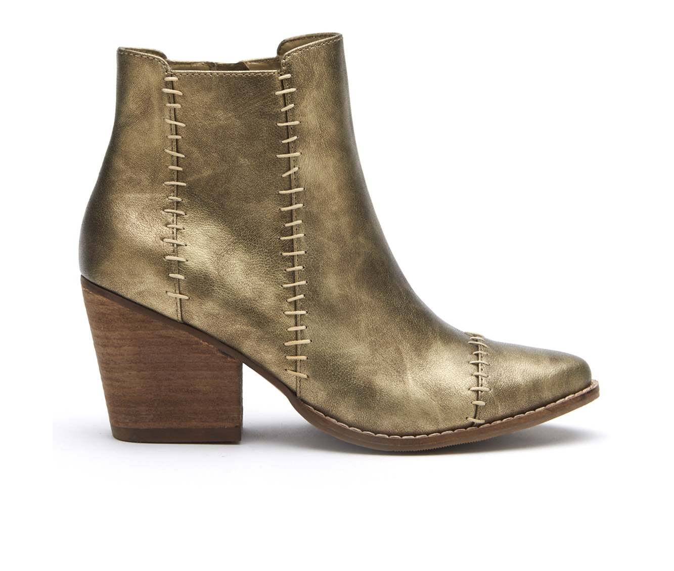 Coconuts Elaine Women's Boot (Gold Canvas)