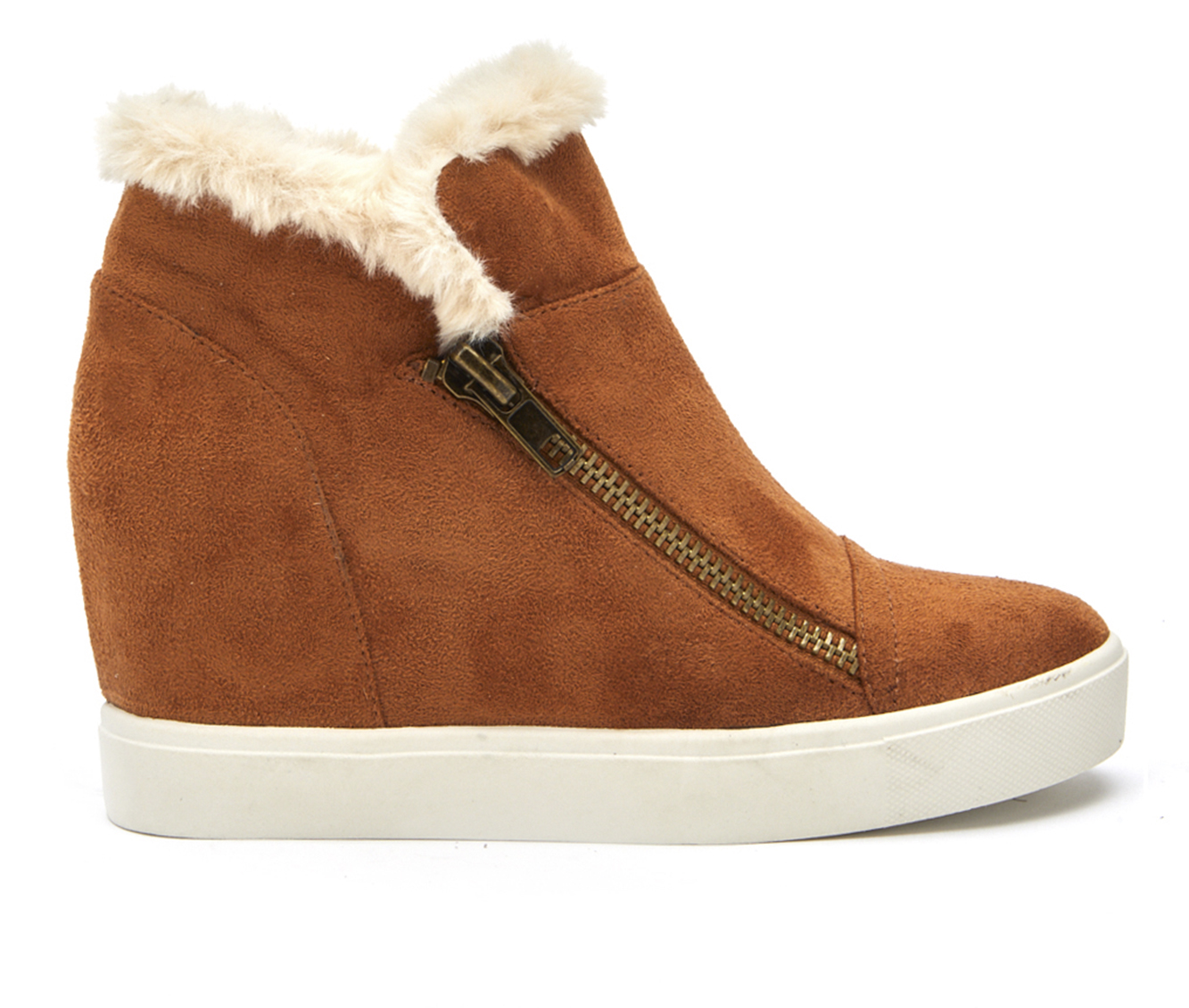 Coconuts Later Days Women's Boot (Brown Canvas)