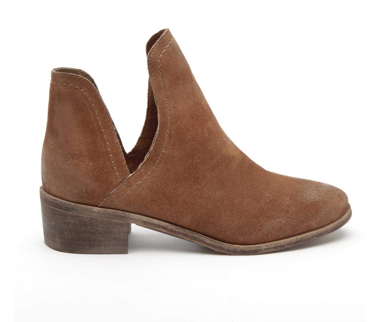 Coconuts Pronto Women's Boot (Brown Suede)