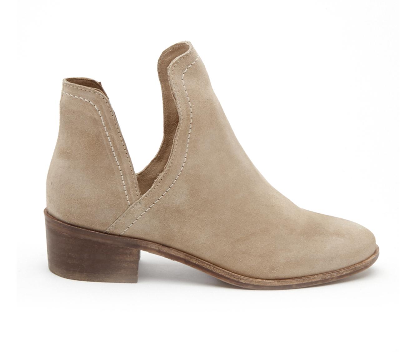 Coconuts Pronto Women's Boots (Beige - Suede)