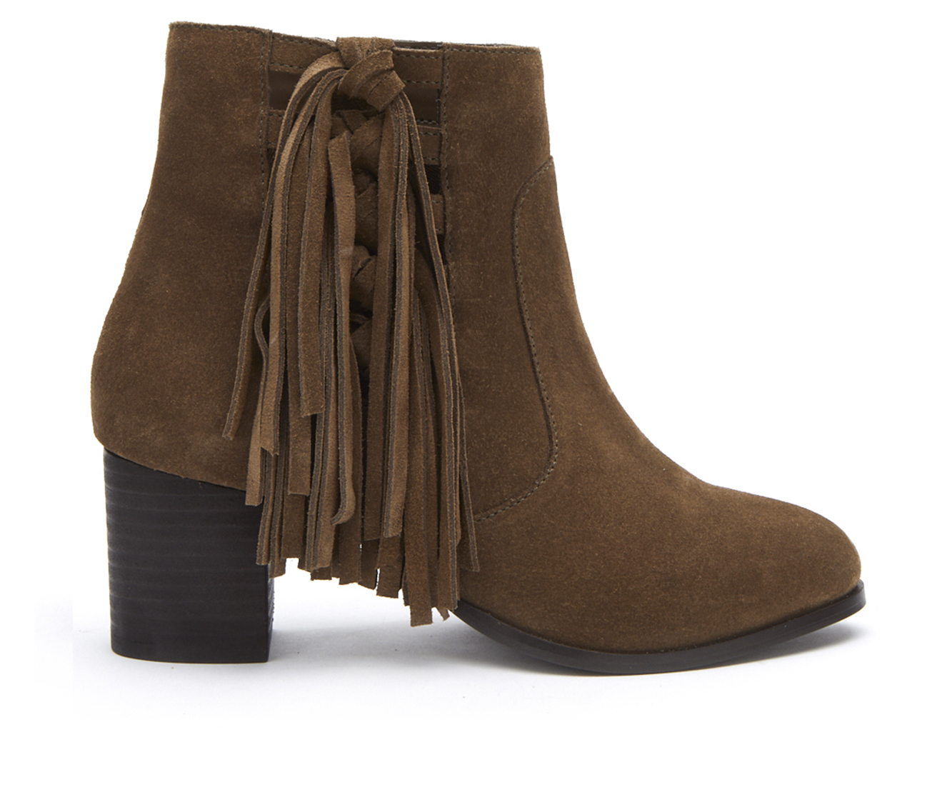 Coconuts Stroll Through Women's Boot (Green Suede)