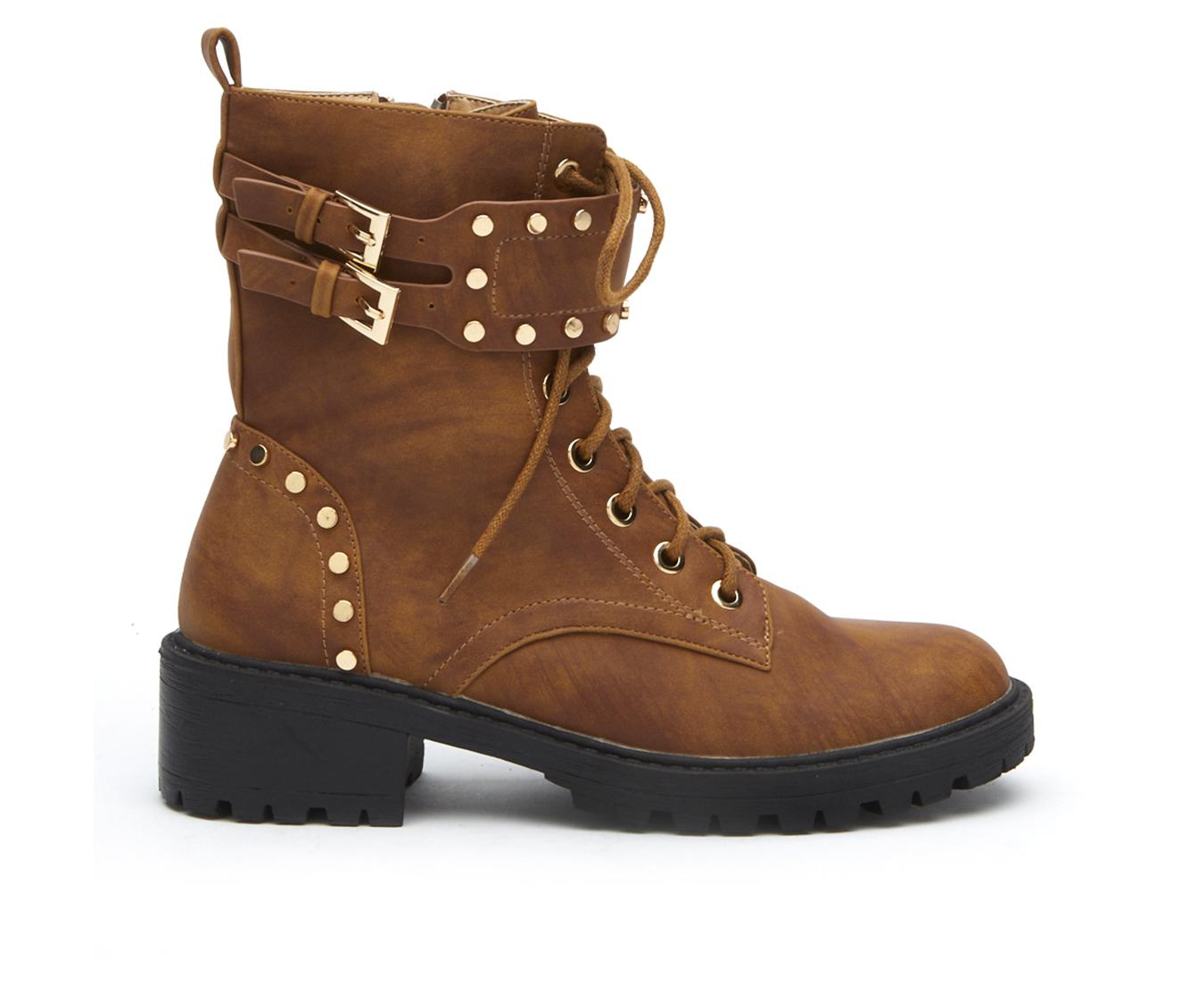 Coconuts Sid Women's Boot (Beige Faux Leather)