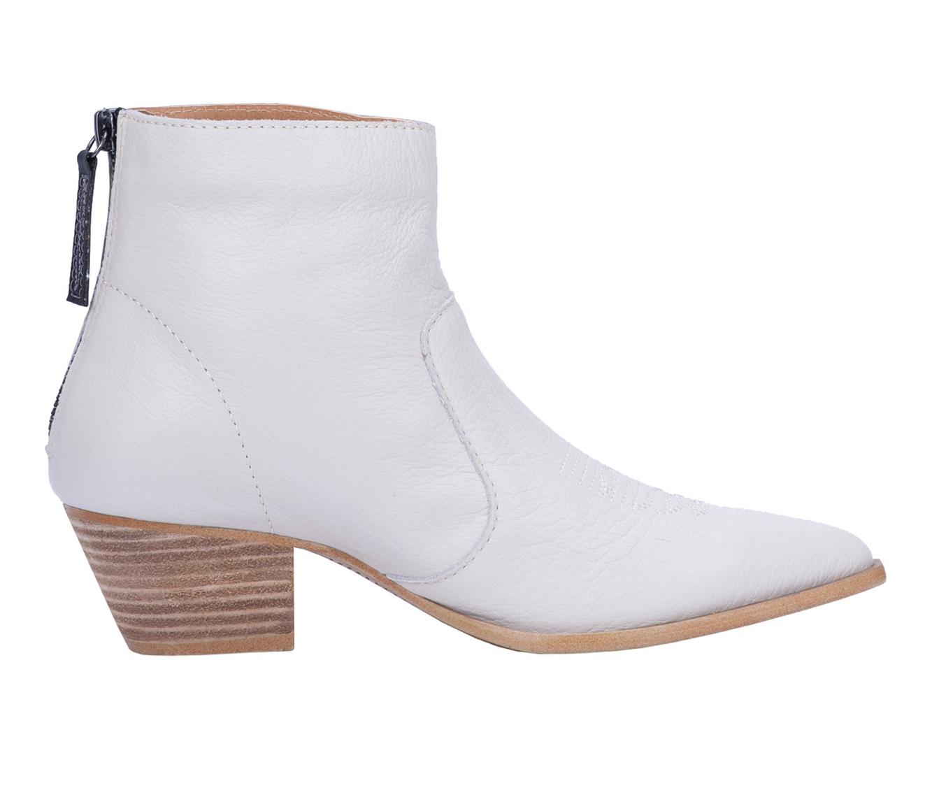 Dingo Boots Klanton Women's Boots (White - Leather)