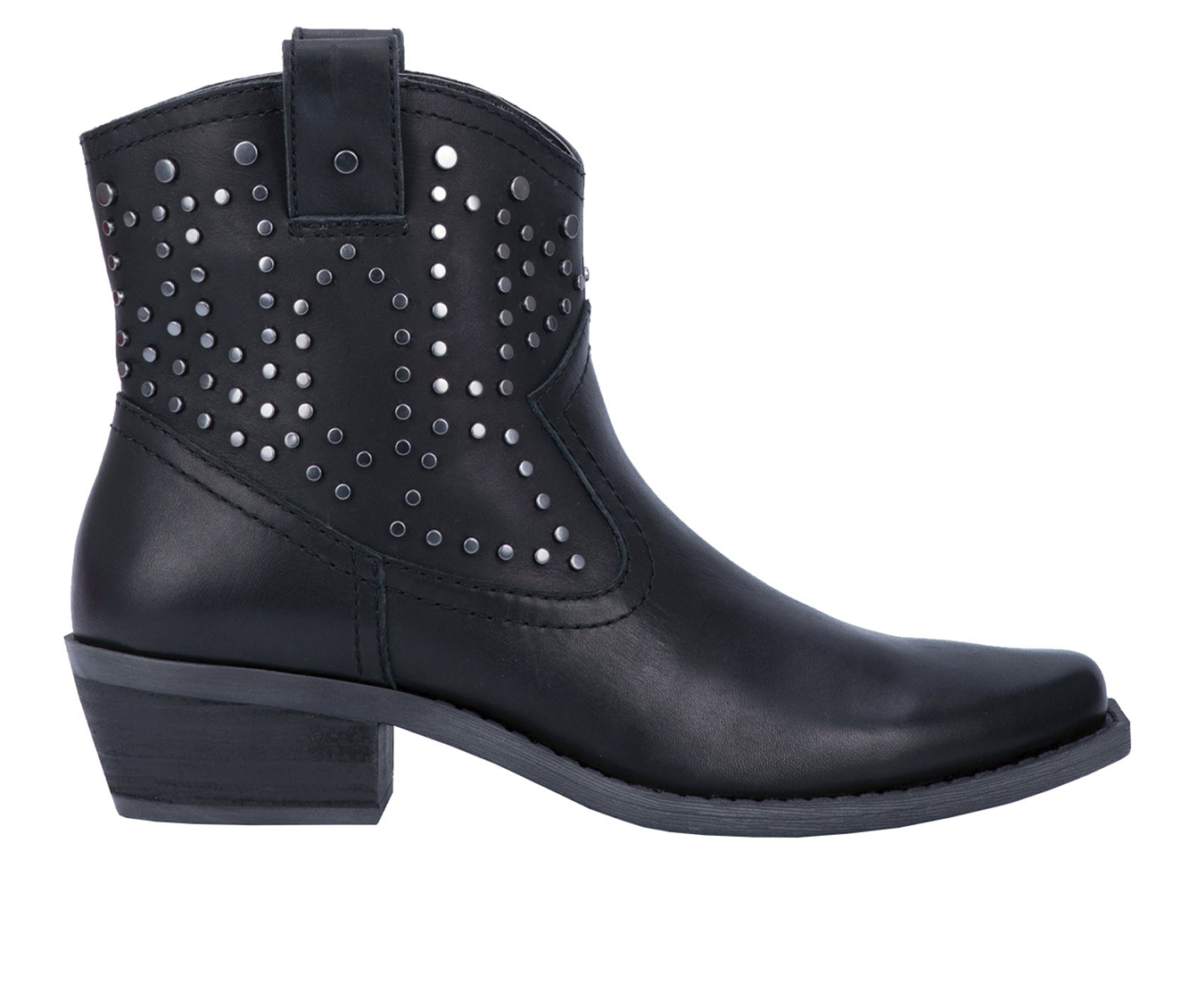 Dingo Boots Dusty Women's Boots (Black - Leather)