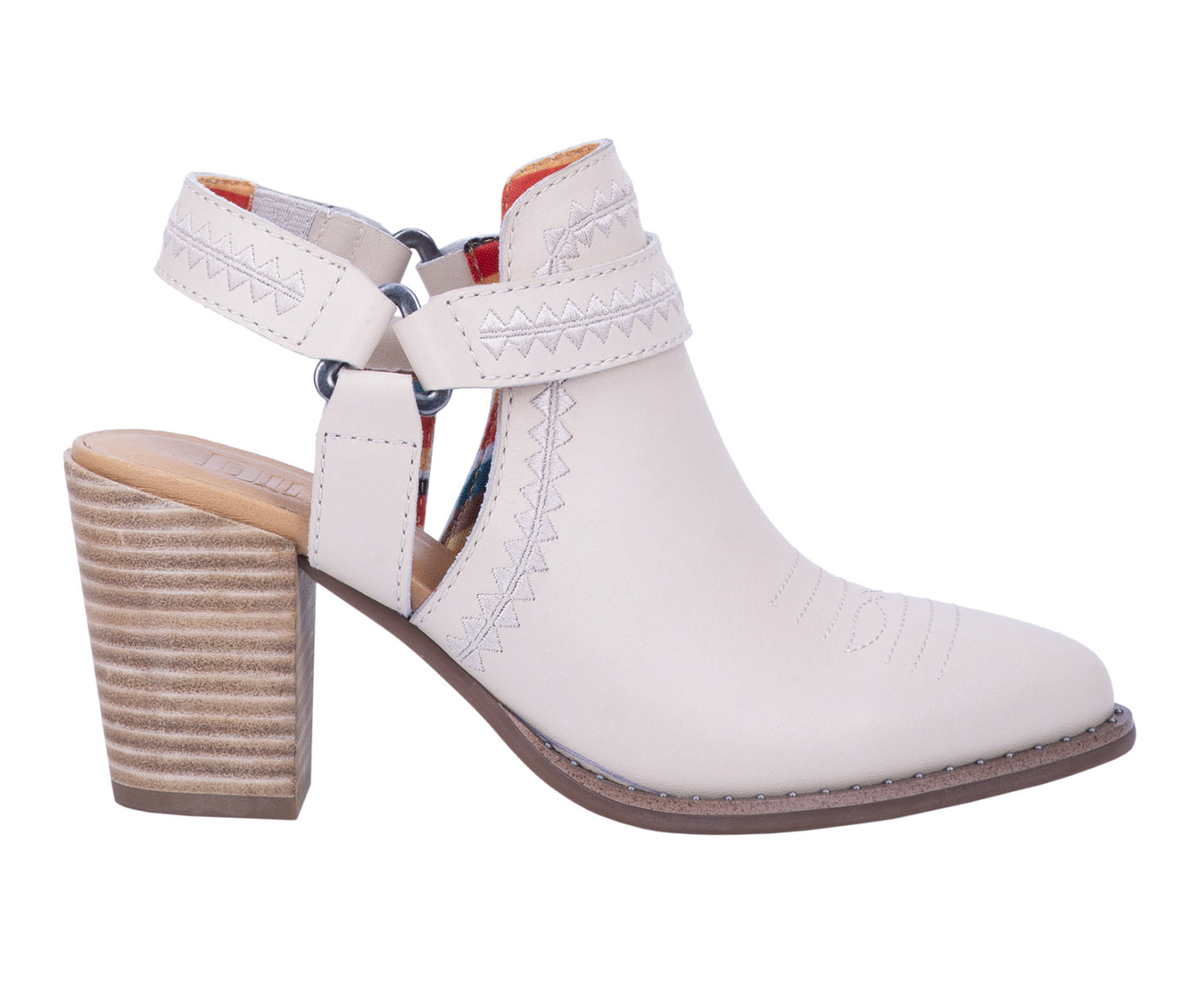 Dingo Boots Concho Women's Boots (White - Leather)