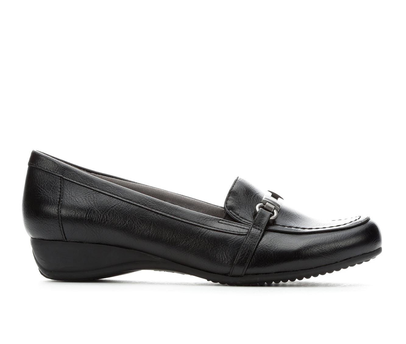 LifeStride Demure Women's Shoe (Black Faux Leather)