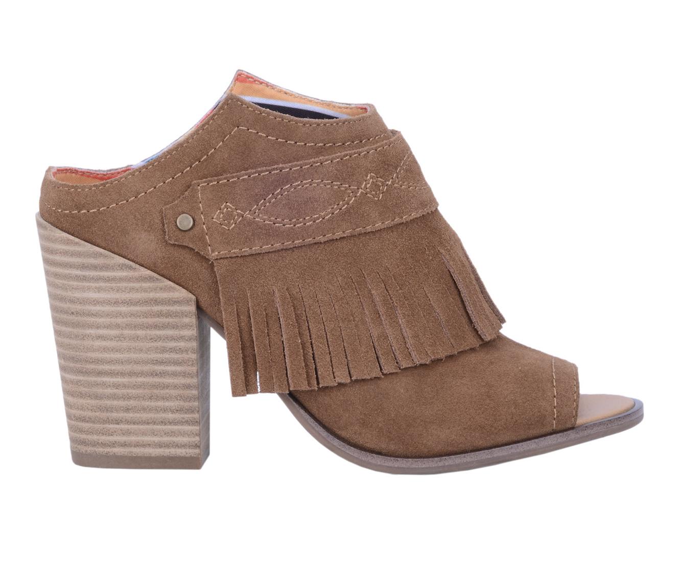 Dingo Boots Shaker Women's Dress Shoe (Brown - Leather)