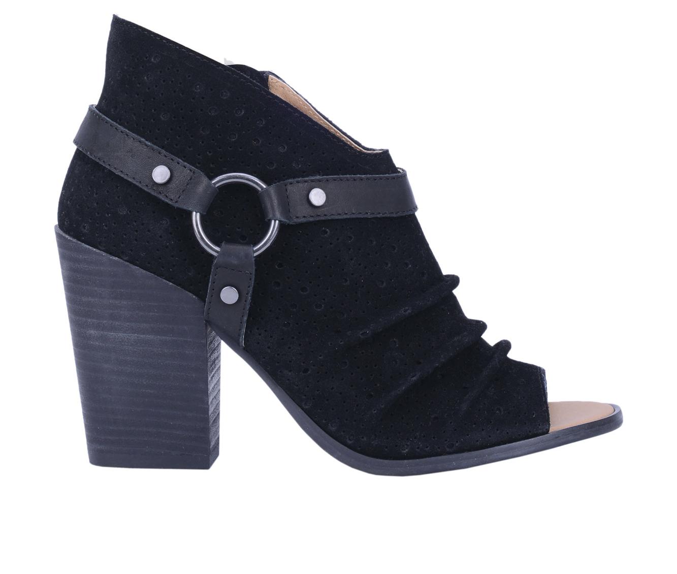 Dingo Boots Spurs Women's Dress Shoe (Black - Leather)