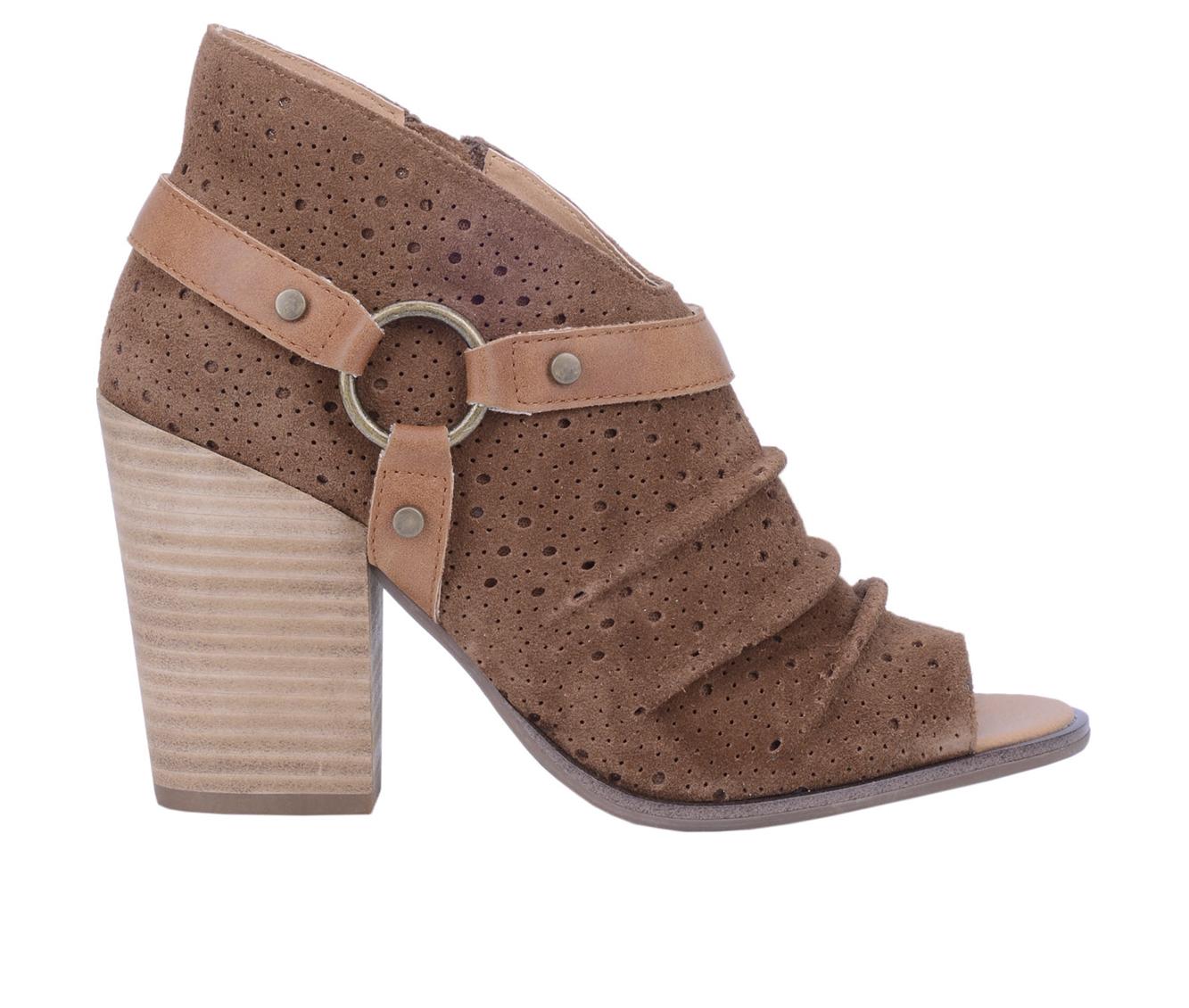 Dingo Boots Spurs Women's Dress Shoe (Brown - Leather)