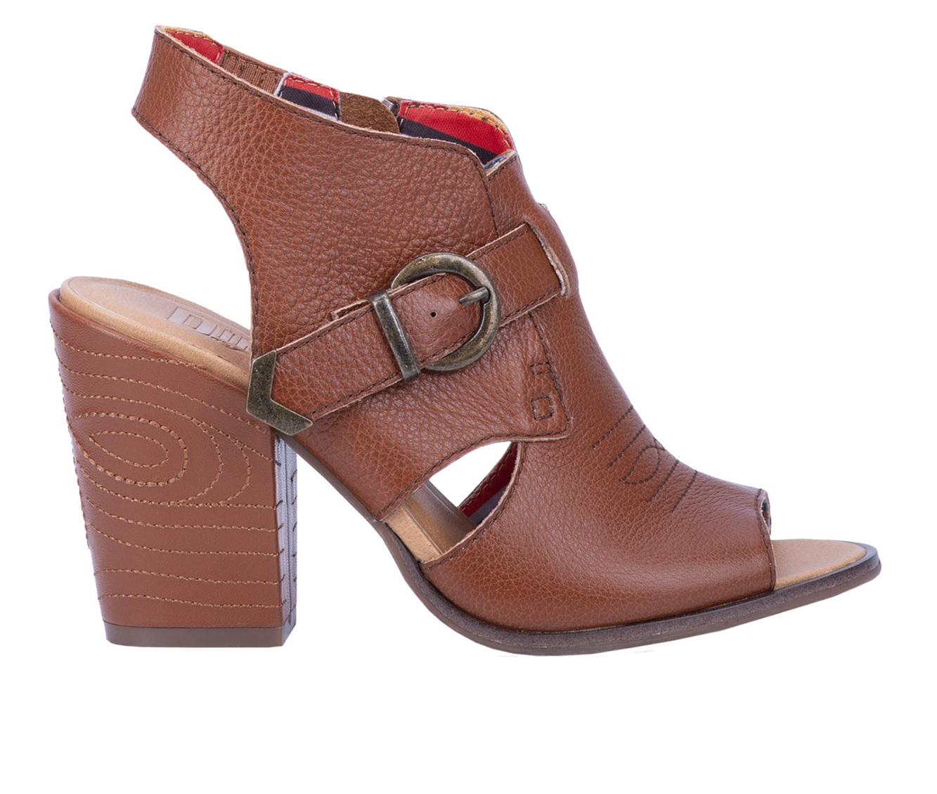 Dingo Boots Stirrup Women's Dress Shoe (Brown - Leather)